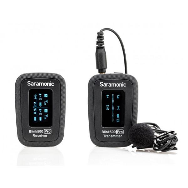 Saramonic Blink500 Pro B1 wireless microphone system