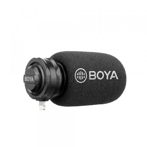 BOYA BY-DM200 Digital Shotgun Microphone for iOS