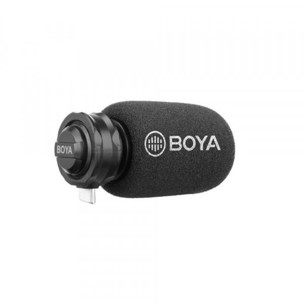 BOYA BY-DM100 Digital Shotgun Microphone for Android USB-C