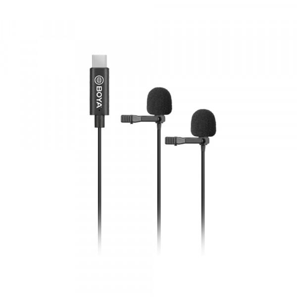 BOYA BY-M3D clip-on lavalier Microphone