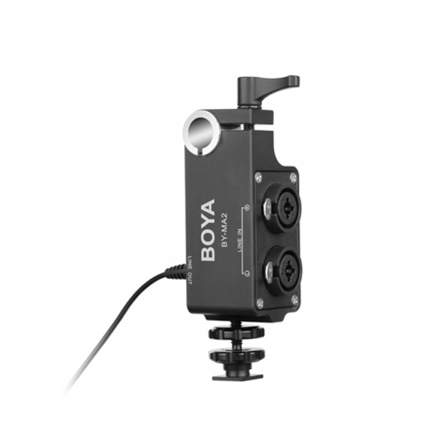 BOYA BY-MA2 audio-adapter