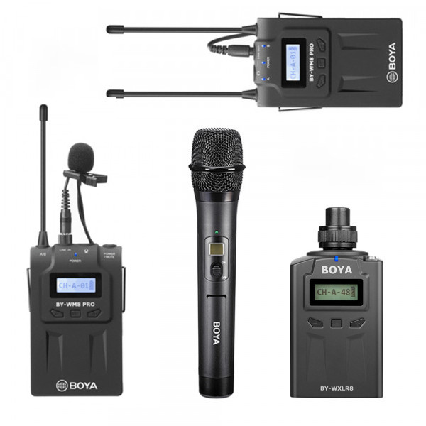 BOYA SET: RX8 Pro + 2 transmitters