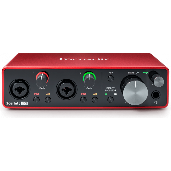 Focusrite Scarlet 212 audio-interface