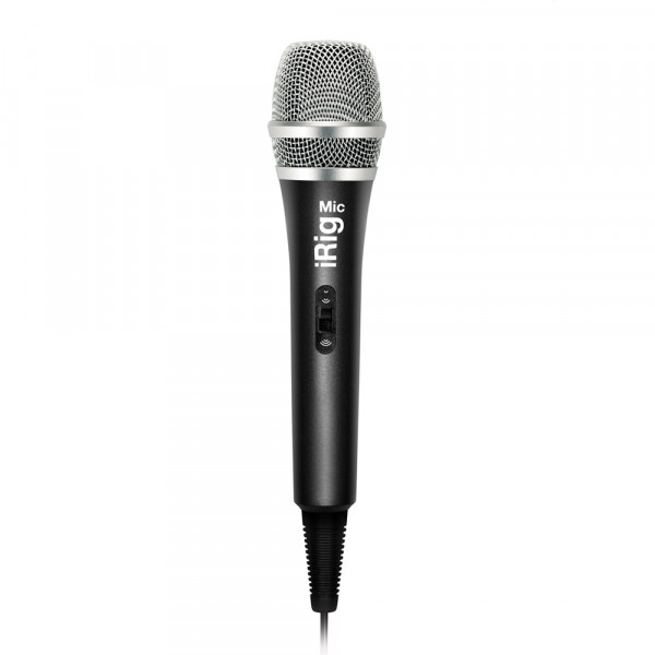 IK iRig Mic, microphone for smartphone/tablet