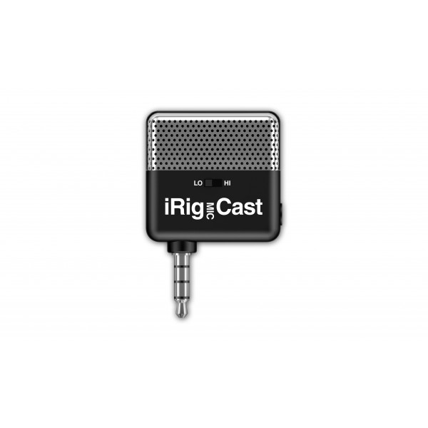 I iRig Mic Cast microphone - pocket-size