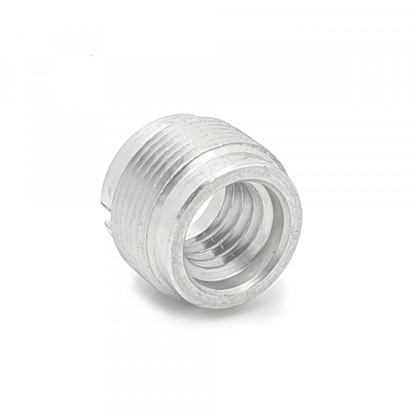 Microphone threaded adapter