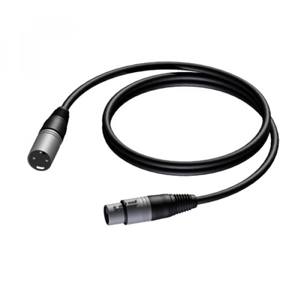 Procab PRA901 PRIME XLR microphone cable 3m