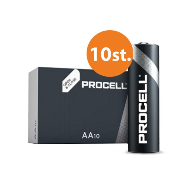 Duracell Procell AA battery - set 10pcs