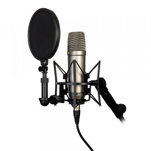 RODE NT1-A condenser microphone studioset