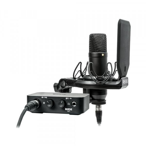 RODE NT1-AI SMR Condenser Microphone Studio Kit