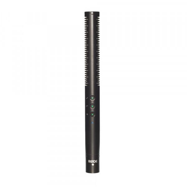RODE NTG4 capacitor shotgun microphone