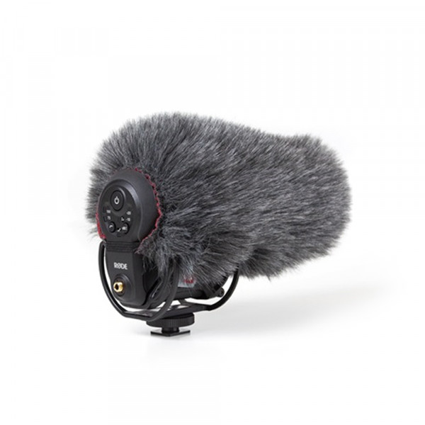 Rycote mini windjammer for RODE VideoMic Pro+