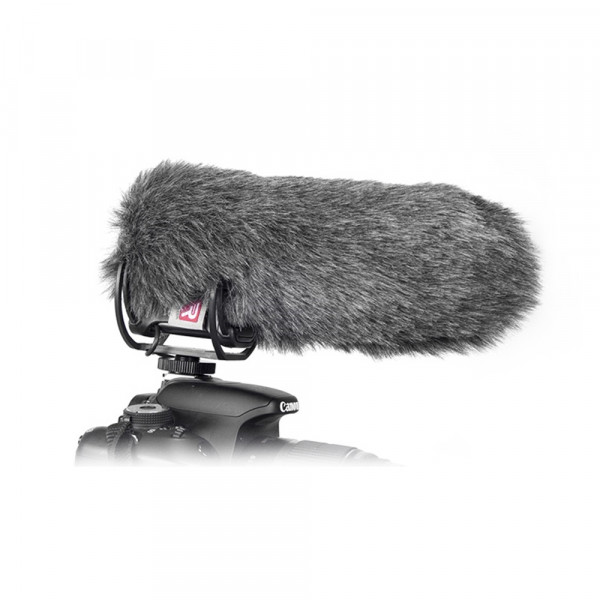 Rycote mini windjammer for RODE VideoMic Pro w/Lyre Mini Windjammer