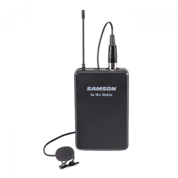 Samson Go Mic Mobile Beltpack transmitter with lavalier
