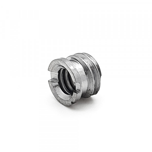 EM screw adapter 1/4 to 3/8