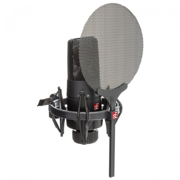 SE Electronics X1S Vocal Pack: X1S Studio Microphone and Isolation Pack