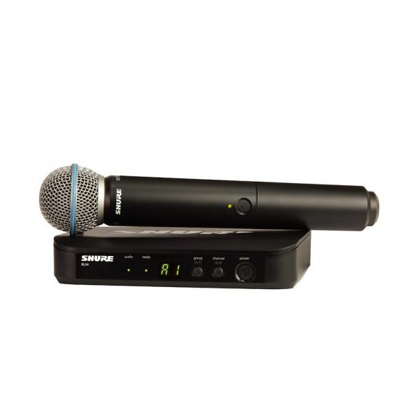 Shure BLX24E/B58 K14 (614-638 MHz) handheld wireless