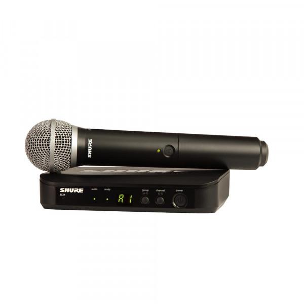 Shure BLX24E/PG58 K14 (614-638 MHz) handheld wireless