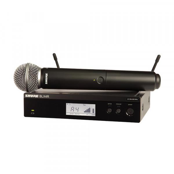 Shure BLX24R/SM58 K14 (614-638 MHz) handheld wireless