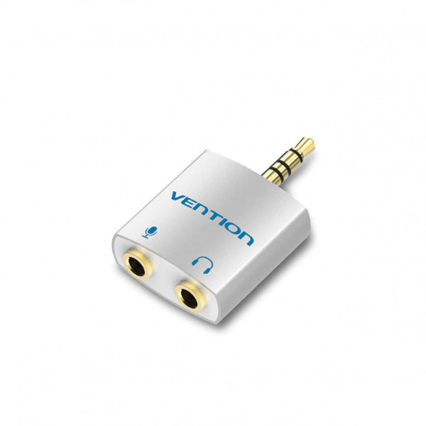 Vention 3.5mm audio adapter TRRS (microphone in / headphones out)