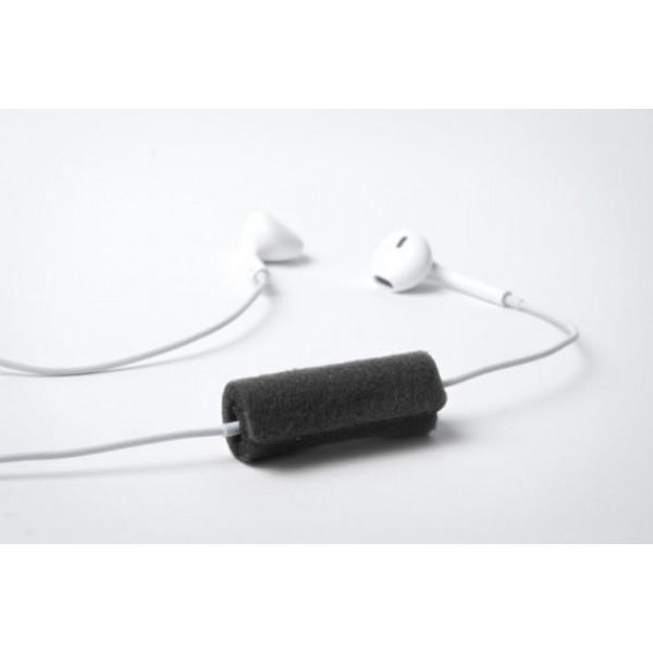Windblocker headset zwart