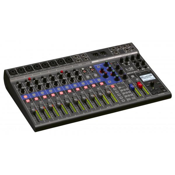 ZOOM LiveTrak L-12 digital mixing console