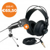 PODCAST STARTER SET: Fifine K668 + DAP D1811 HP290