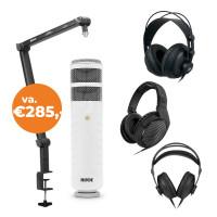 SET: BOYA BA30 microfoonarm en RODE Podcaster microfoon