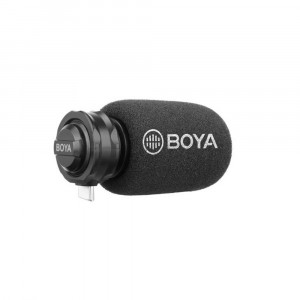 BOYA BY-DM100 Digital Shotgun Microphone for Android USB-C
