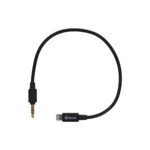 BOYA BY-K1 Universele Adapter 3,5mm TRS naar Lightning