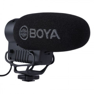 BOYA BY-BM3051S condenser shotgun directional microphone