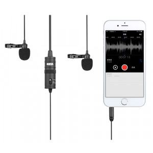 BOYA BY-M1DM Duo lavalier microphone