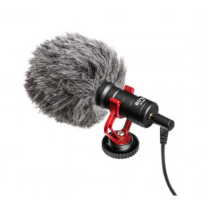 BOYA BY-MM1 universal shotgun microphone