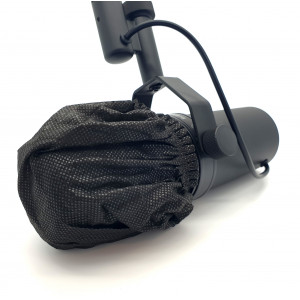 Elastic disposable windshield / mic cover LARGE (1st.)
