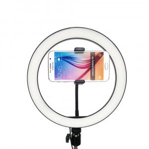 EM-RL1 Dual-Color LED Ring Lamp with / without tripod