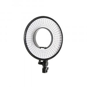 Falcon Eyes Bi-Color LED Ring Lamp DVR-300DVC on 230V - dimmable