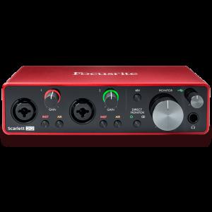 Focusrite Scarlett 2i2 audio-interface (3rd gen)
