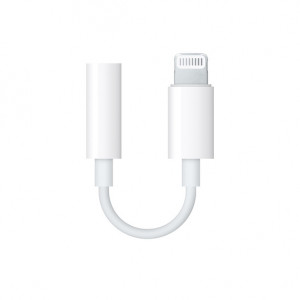 Apple Lightning to headphone jack adapter
