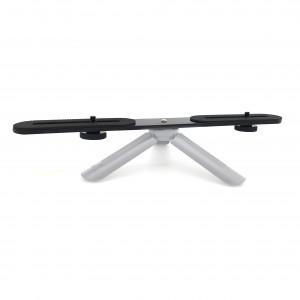 1/4 inch dual mount divider bracket