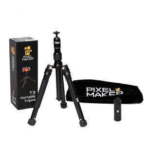 PIXEL MAKER T3 smartphone statief / tri-pod / selfie-stick