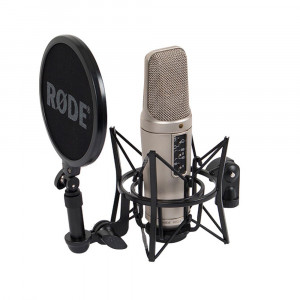 RODE NT2 A large capsule studio microphone