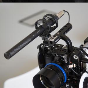 RODE NTG4+ condenser shotgun microphone