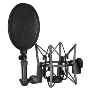 RODE SM6 shock mount with pop-filter