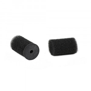 Rycote lavalier Ristretto windjammer black - 2 pc.