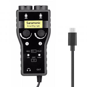 Saramonic microphone Adapter SmartRig+ UC