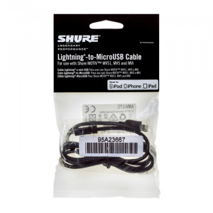 Shure AMV-LTG cable Lightning to MicroUSB