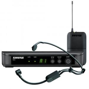 Shure BLX14E/P31-K14 (614-638 MHz) wireless headset