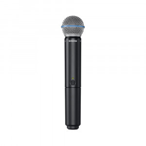 Shure BLX24E/B58 K14 (614-638 MHz) handheld wireless