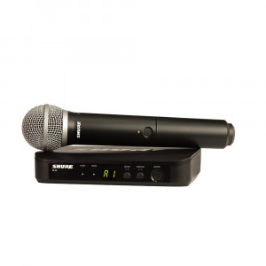 Shure BLX24E/PG58 K14 (614-638 MHz) handheld wireless