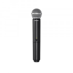 Shure BLX24E/SM58 K14 (614-638 MHz) handheld wireless